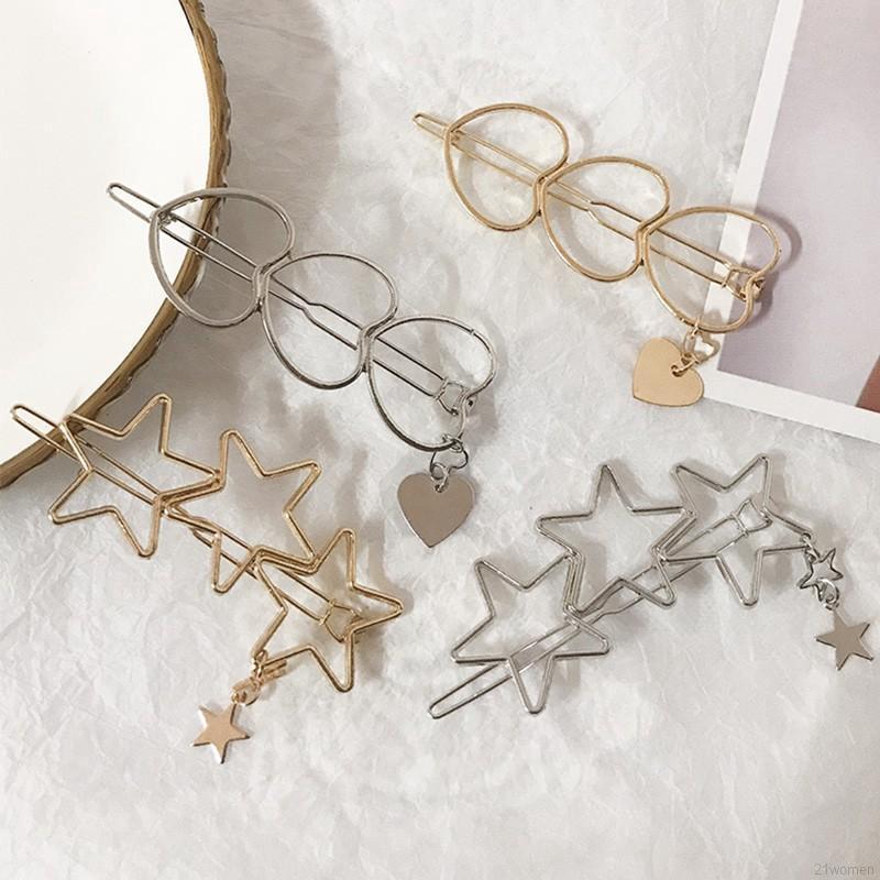 Trâm cài tóc hình ngôi sao 5 cánh đáng yêu