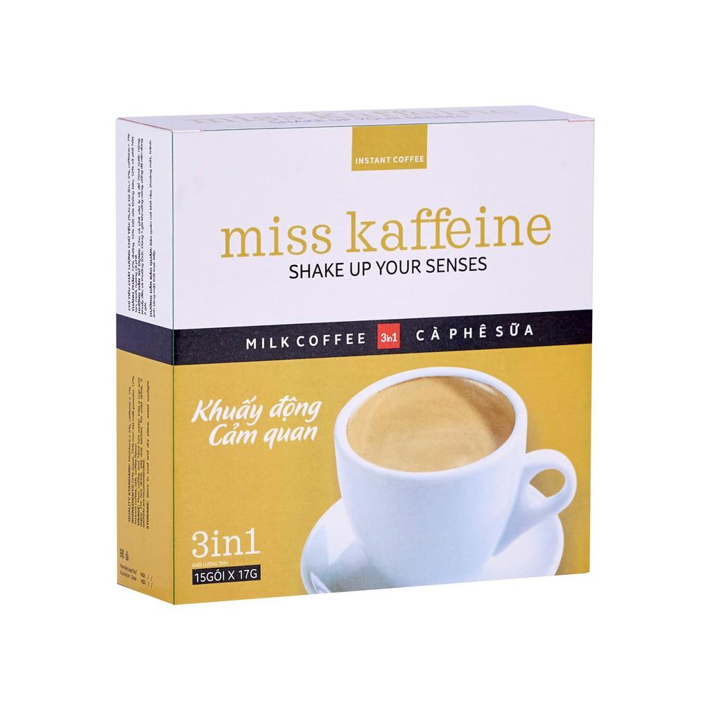 Hộp cà phê Sữa có đường cao cấp Miss Kaffeine...
