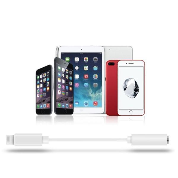 Cáp chuyển đổi từ giắc cắm Lightning sang 3.5mm cho tai nghe điện thoại IPhone