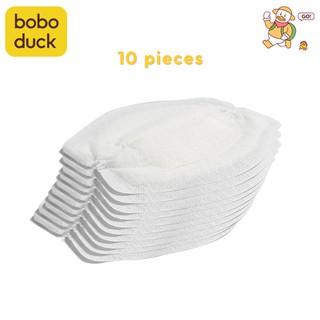 Bộ 10 miếng lót ngực chống tràn sau sinh siêu mỏng dùng 1 lần chất lượng cao thumbnail