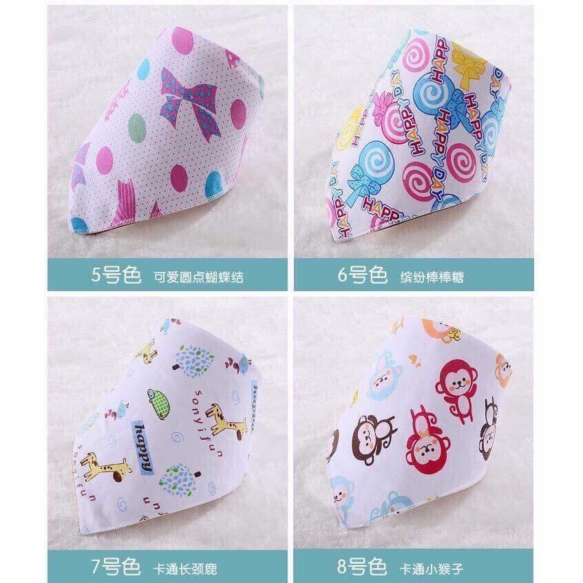 Set 10 khăn yếm tam giác cao cấp Cotton 2 lớp có cúc bấm - 14147435 , 1343841116 , 322_1343841116 , 100000 , Set-10-khan-yem-tam-giac-cao-cap-Cotton-2-lop-co-cuc-bam-322_1343841116 , shopee.vn , Set 10 khăn yếm tam giác cao cấp Cotton 2 lớp có cúc bấm