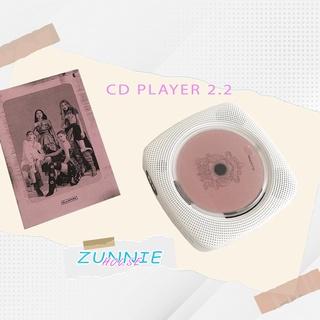 Máy nghe nhạc CD Player version 2.2 bản sạc pin mới nhất - máy đọc đĩa CD, DVD, nghe nhạc Bluetooth, USB thumbnail