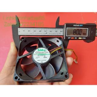 Quạt tản nhiệt Nidec 12v-24v 8 8 tháo máy Nhật. thumbnail