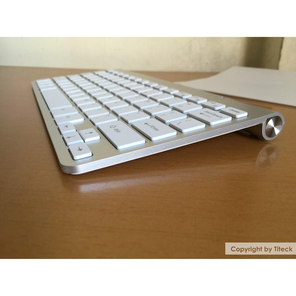 [Mã ELFLASH1 hoàn 10K xu đơn 20K] Bàn phím không dây kết nối laptop, PC, SmartTV,Macbook