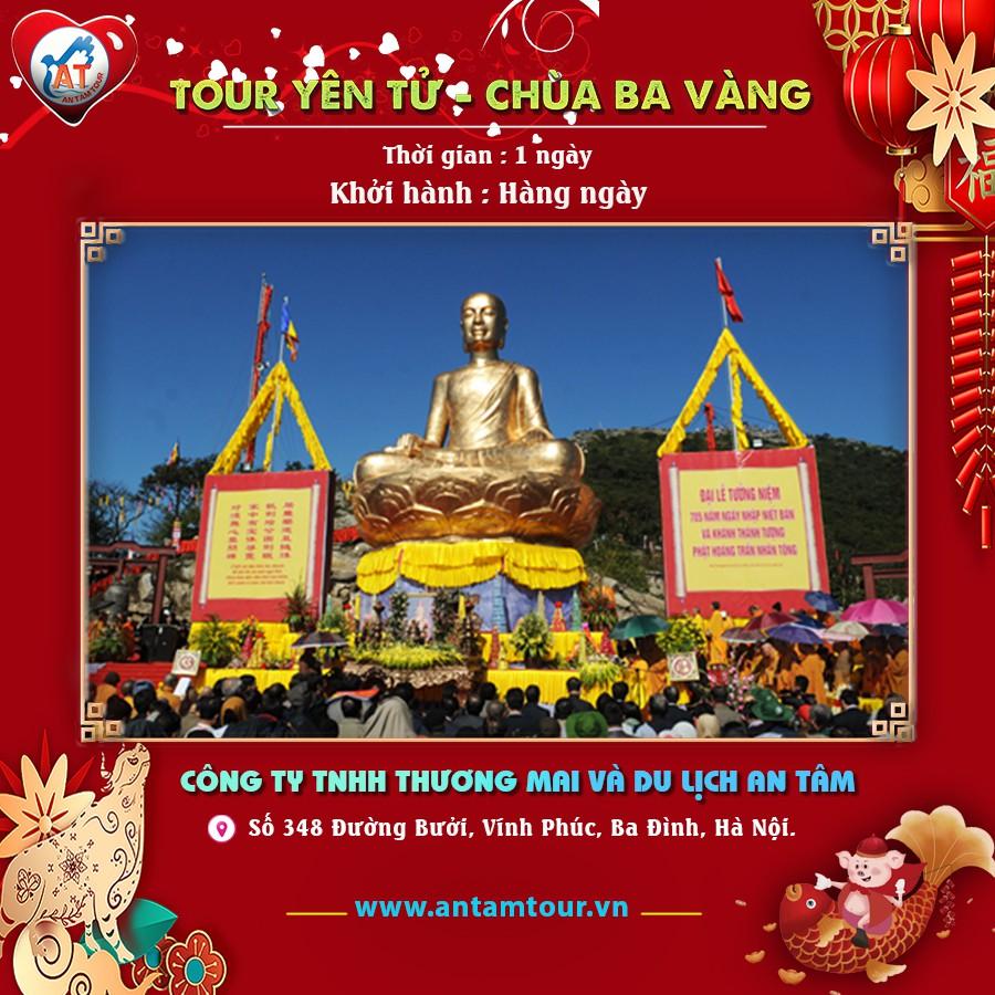 Toàn Quốc [ E-Voucher ] Tour Yên Tử Chùa Ba Vàng 1 ngày từ Hà Nội