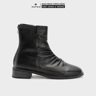 Giày Bốt Nữ Boot Nhăn 2Phân HAPAS - BOT247