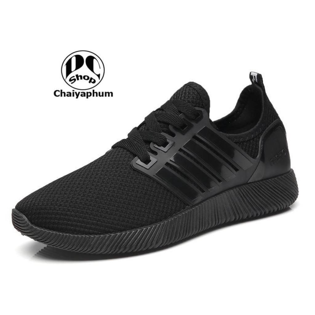 Dcee Shop รองเท้า รองเท้าผ้าใบ รองเท้าแฟชั่น สีดำล้วนcee Shop รองเท้า รองเท้าผ้าใบ รองเท้าแฟชั่น สีดำล้วน