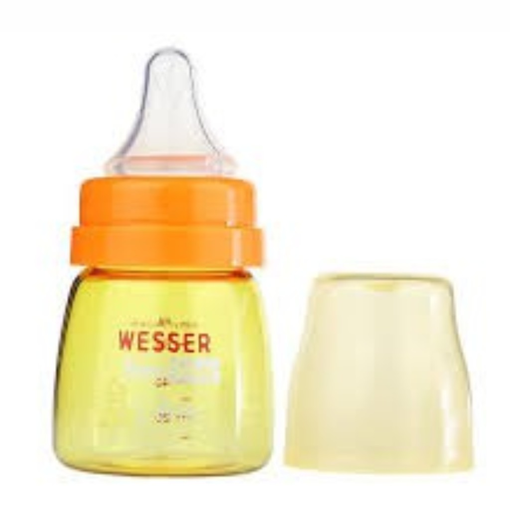 Bình sữa Wesser nano silver 60ml mẫu mới