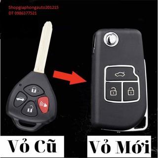 Vỏ Độ chìa khóa Gập xe Toyota thumbnail