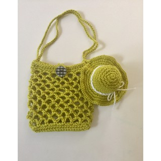 Handmade – Nón-Giỏ mini móc len sợi – @bellascrochet_corner