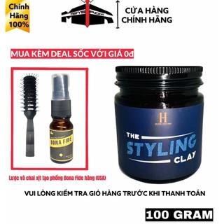 (MUA KÈM DEAL SỐC 0Đ) Sáp Wax vuốt tóc The Styling Clay - 100g + Mua kèm Deal Sốc với giá 0đ