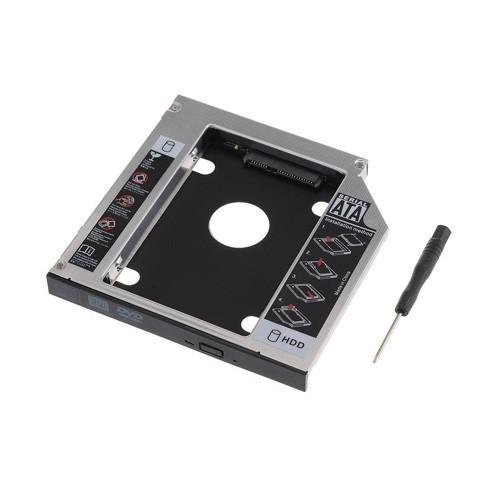 Caddy Bay 12.7mm - Nâp cấp ổ cứng cho laptop tốt nhất