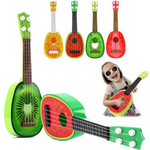 Đàn ghi ta ukulele hình trái cây cho bé