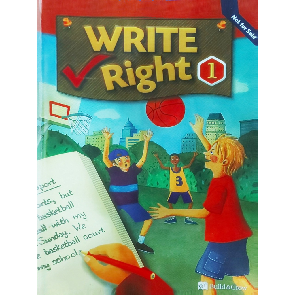 Sách - Combo 3 cuốn write right tập 1,2,3