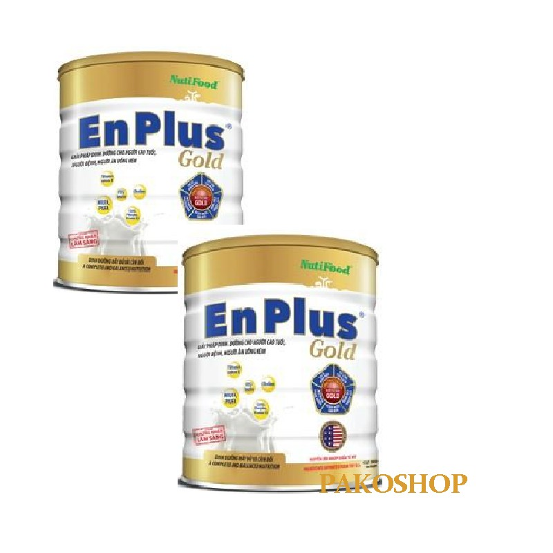 Combo 2 lon Enplus gold 900g