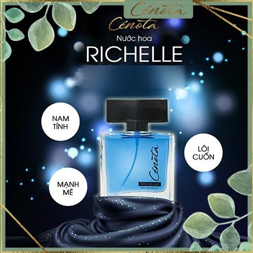Nước hoa nam Cénota Richelle, nước hoa nam hướng thơm mạnh mẽ, quyến rũ - mã PM06 buny
