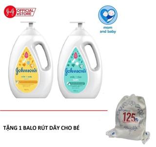 """Bộ 2 chai Sữa tắm sữa & gạo Johnson's Milk Rice + Sữa tắm sữa & yến mạch Johnson's Milk Oats 1000ml x 2 - 540019940 giá chỉ còn <strong class=""""price"""">24.900.000.000đ</strong>"""