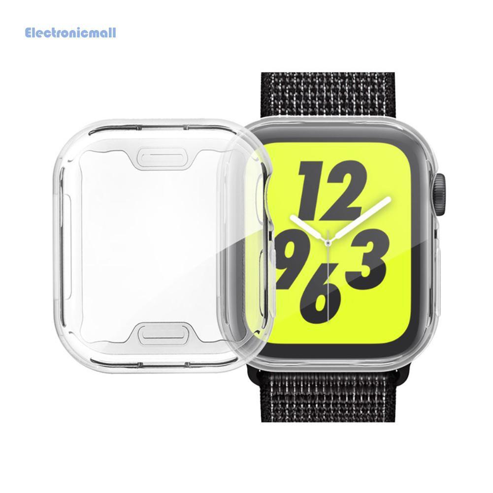 Set 3 Miếng Dán Tpu Mềm Trong Suốt Bảo Vệ Màn Hình Đồng Hồ Apple Watch 1 2 3 38mm 42mm Mall01