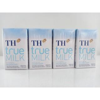 Sữa Tươi Tiệt Trùng Nguyên Chất TH true MILK 110 ml