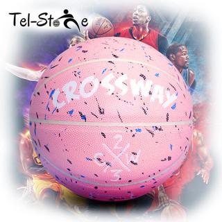 [Bóng rổ da] Crossway Pink (tặng kèm lưới, kim bơm, bơm mini) thumbnail