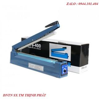 [ PFS 400 40cm ] Máy hàn miệng túi pfs400 size 40cm - Máy ép miệng túi bóng - Máy hàn miệng túi zipper - Máy ép miệng