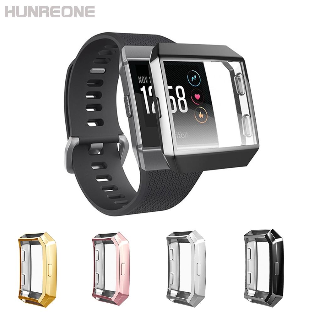 Ốp bảo vệ TPU mạ điện cho đồng hồ thông minh Fitbit Ionic