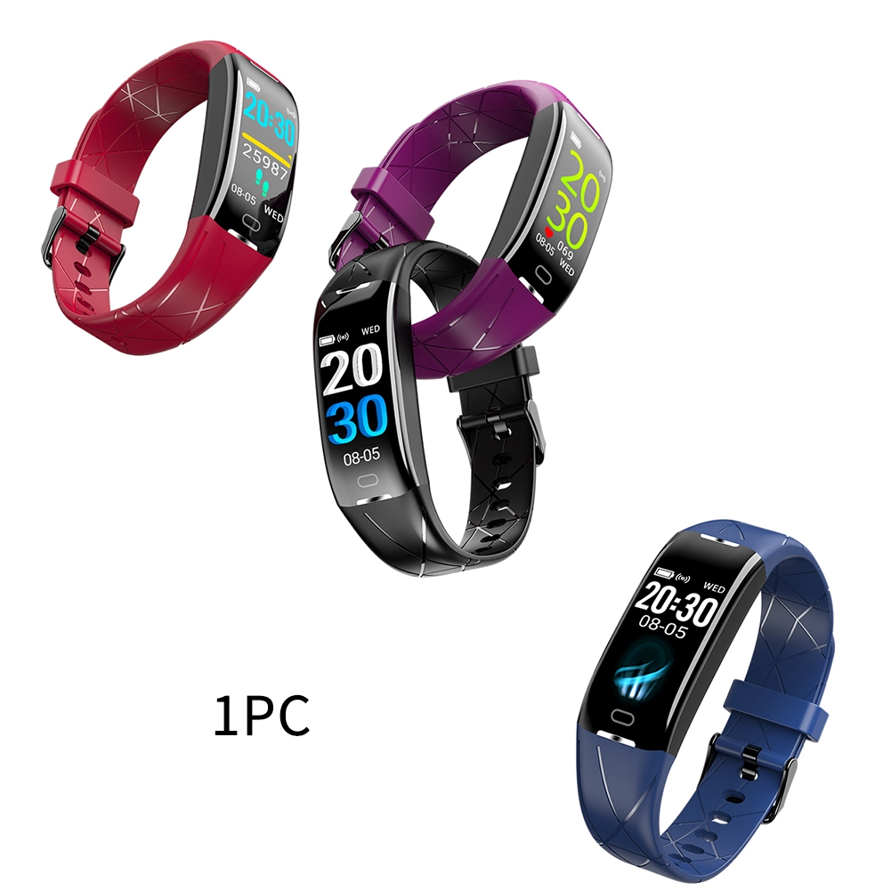 0.96 Inch Bluetooth Fitness Tracker Sports Color Screen Electronic Blood Pressure Outdoor For Android IOS Smart Bracelet