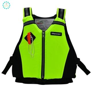 【cfh】Life Jacket Adult Sports Life Jacket, Life Vest Piping and Reflective Tape for Diving and Swimming