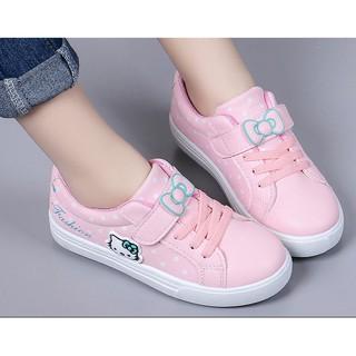 Giày thể thao Hello Kitti  phong cách hàn quốc bé gái từ 4  - 13 tuổi  - TT05H
