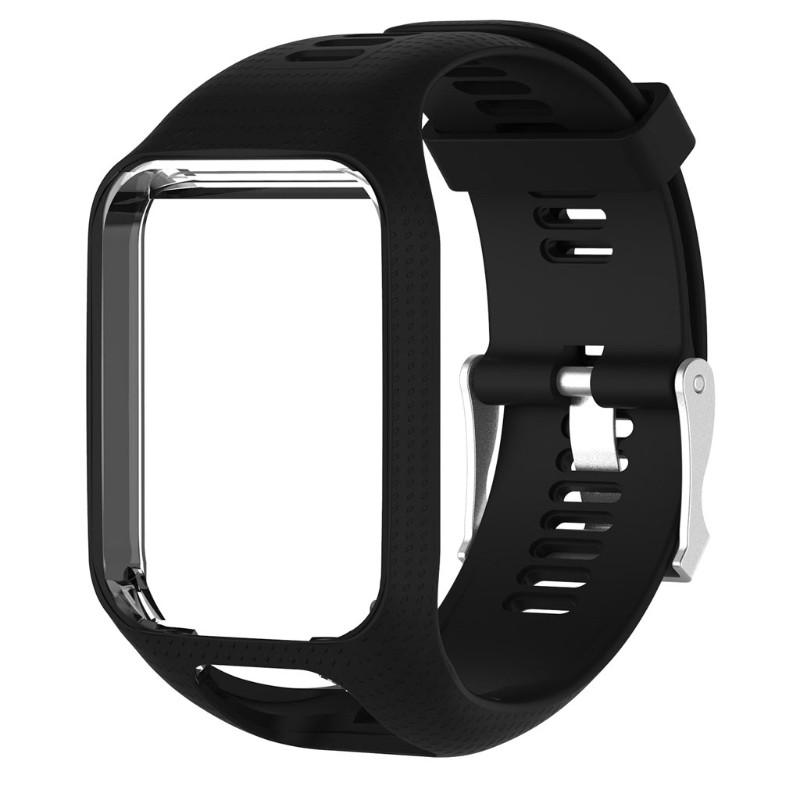 Dây đồng hồ bằng silicon dành cho TomTom Runner 2 3 Spark 3