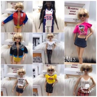 Quần áo búp bê Barbie. Quần áo búp bê Barbie model muse. Quần áo búp bê Barbie chính hãng. Mã đồ3