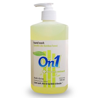 Nước rửa tay sạch khuẩn On1 500ml hương BamBoo Charcoal - RT504-0