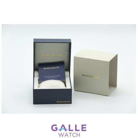 Đồng hồ nam chính hãng Hàn Quốc - Romanson TL0390MJWH - Máy thụy sĩ - Phân phối độc quyền Galle Watch
