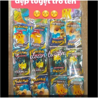 Thẻ bài hình pokemon