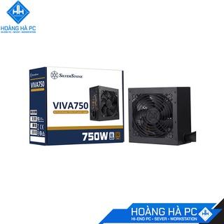 NGUỒN SILVERSTONE VIVA 750W 80 PLUS BRONZE, hàng chính hãng, giá tốt thumbnail