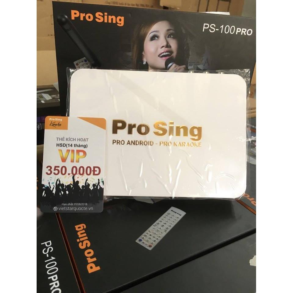 Đầu Karaoke ProSing PS-100 Pro + Tặng thẻ VIP 350.000