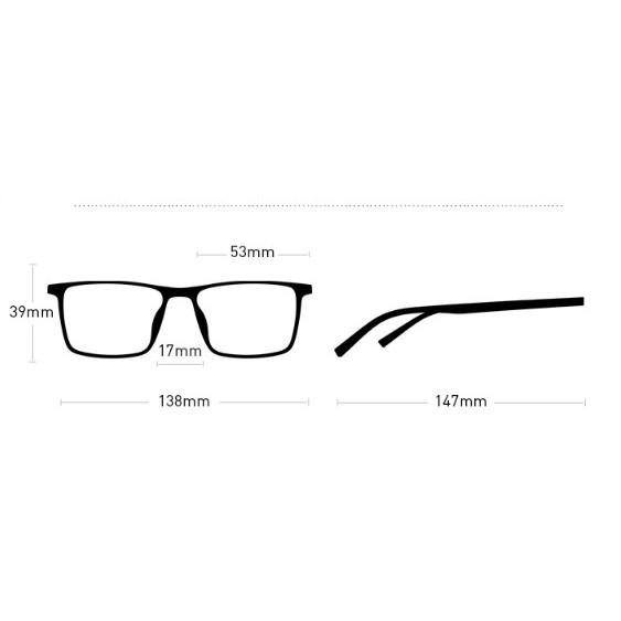Combo 5 mắt kính thời trang nam nữ (không kèm hộp)