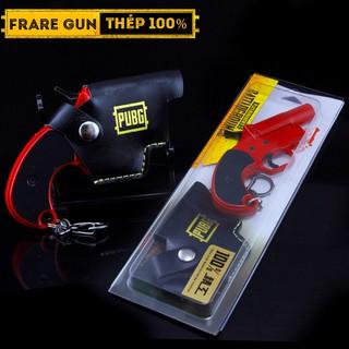 Mô Hình Flare Gun PUBG 20cm Bắn Tia Laser Tặng Bao Da Chính Hãng , Súng Thính PUBG Tặng Bao Da
