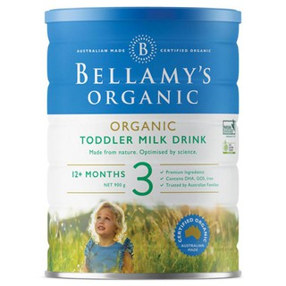 Sữa Bột Bellamy s Organic Toddler Milk Drink Số 3 thumbnail