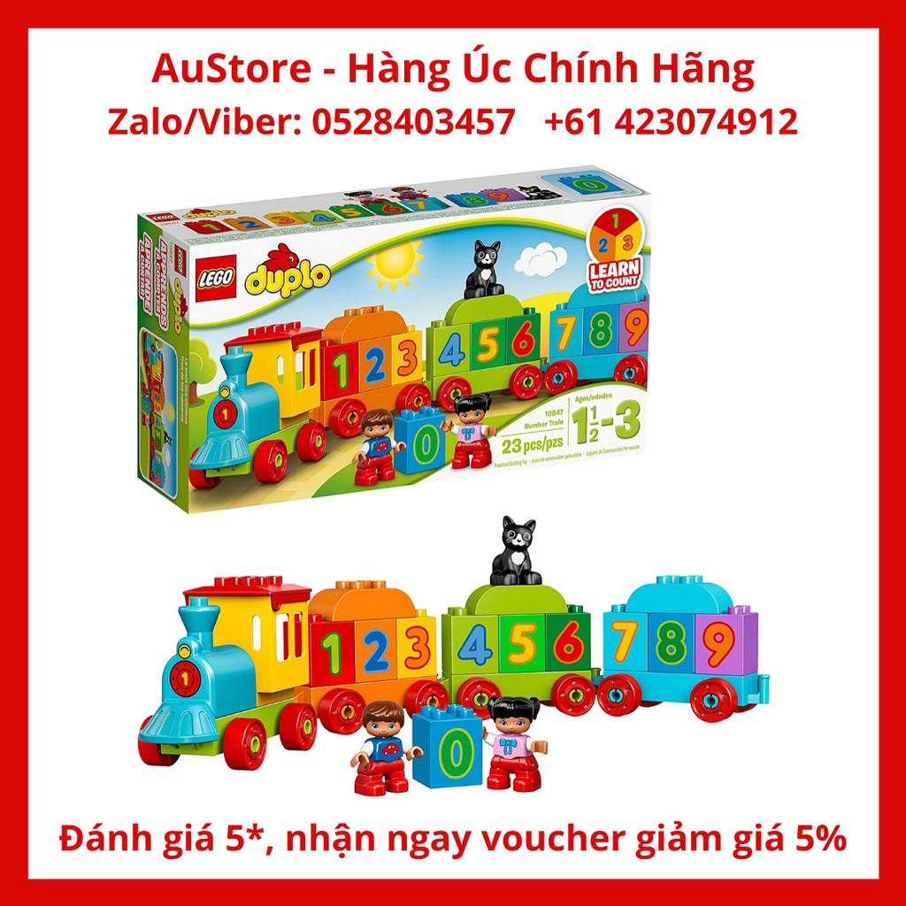 [LEGO CHÍNH HÃNG] 10847 - Đoàn Tàu Số Học (LEGO DUPLO Number Train 10847)