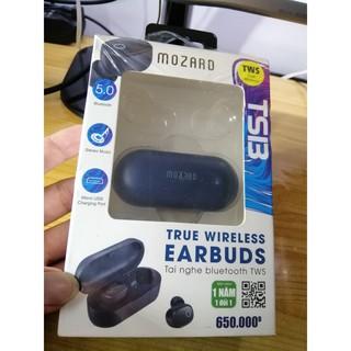 Tai nghe Bluetooth True Wireless Mozard TS13 xanh thumbnail
