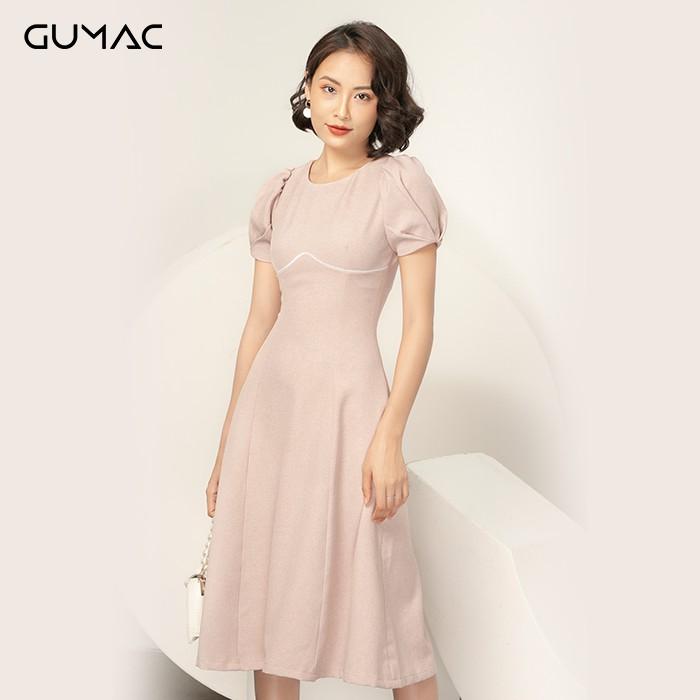 Đầm viền chân ngực GUMAC DA950