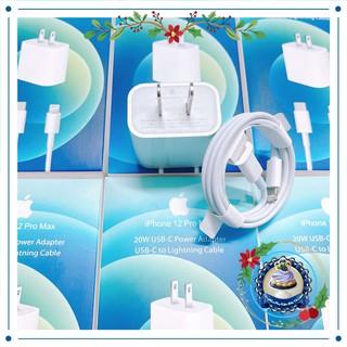 Bộ Sạc Nhanh Iphone (18-20W) USB-C To Lightning - Củ + Cáp Sạc Nhanh iphone (Bảo Hành 6 Tháng)