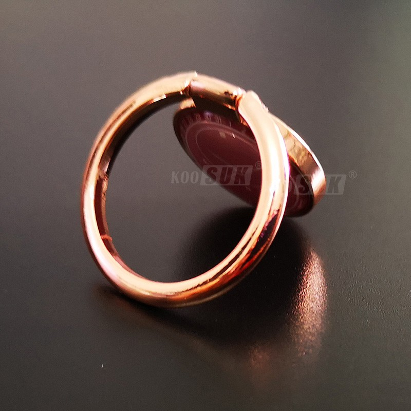 Koosuk 360 Degree Rotating Finger Ring Stand Mobile Phone Holder Circular