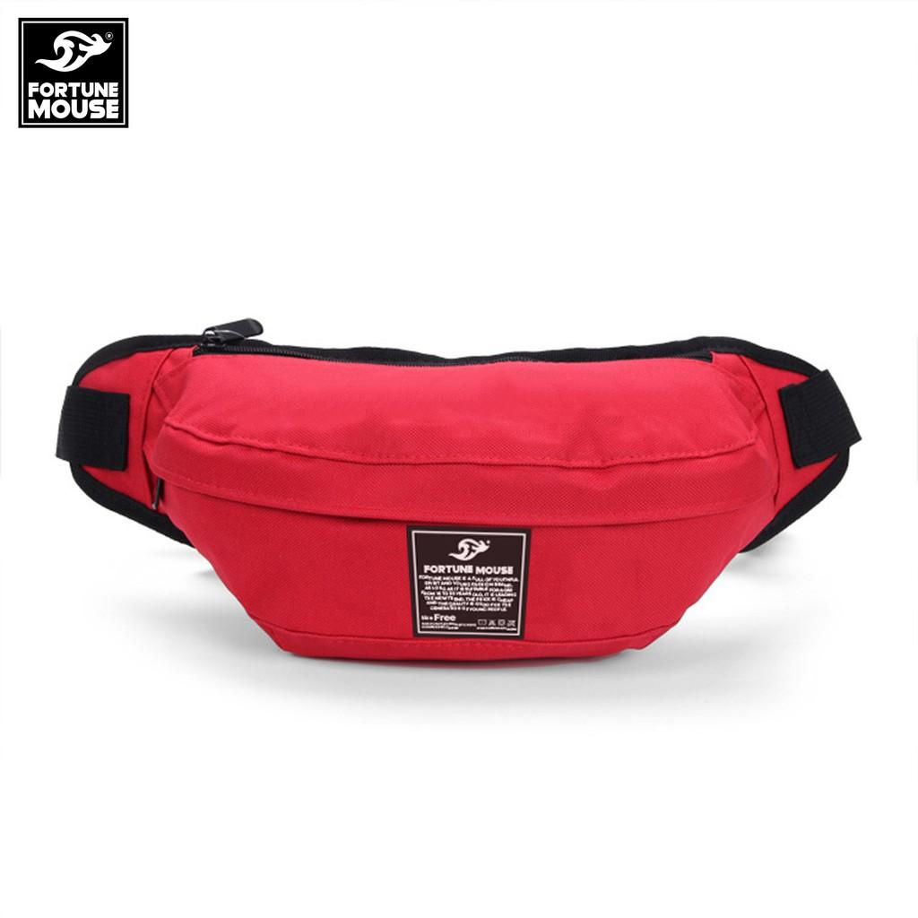 Túi đeo hông, đeo chéo ngực Fortune Mouse loại cao cấp KQ170 (