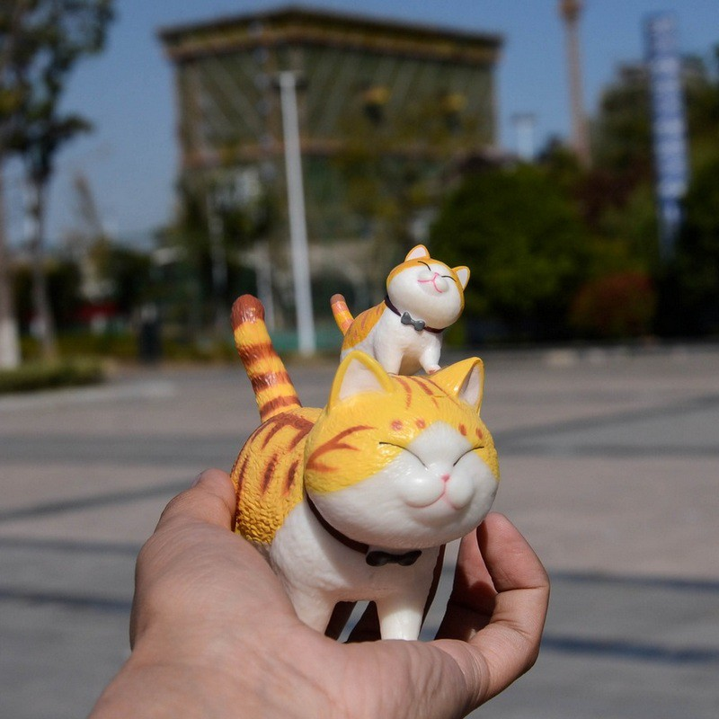 [Mã PET0901 giảm 9K đơn 99K] Mô hình mèo đi bộ size lớn