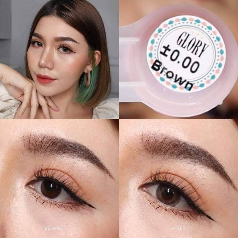 Lens màu Nâu (0độ)