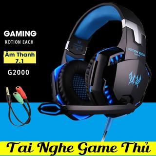 [Mã ELFLASH5 giảm 20K đơn 50K] [HÀNG CHÍNH HÃNG] Tai Nghe Gaming Kotion G2000 Âm Thanh 7.1 Led RGB
