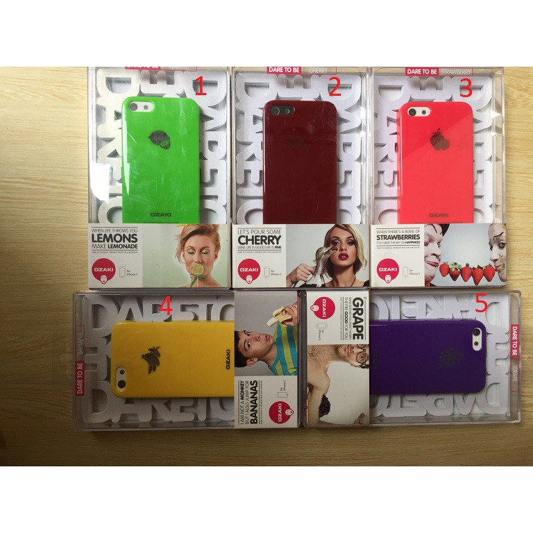 Ốp màu sắc mùa hè dành cho Iphone 5/5s/5c