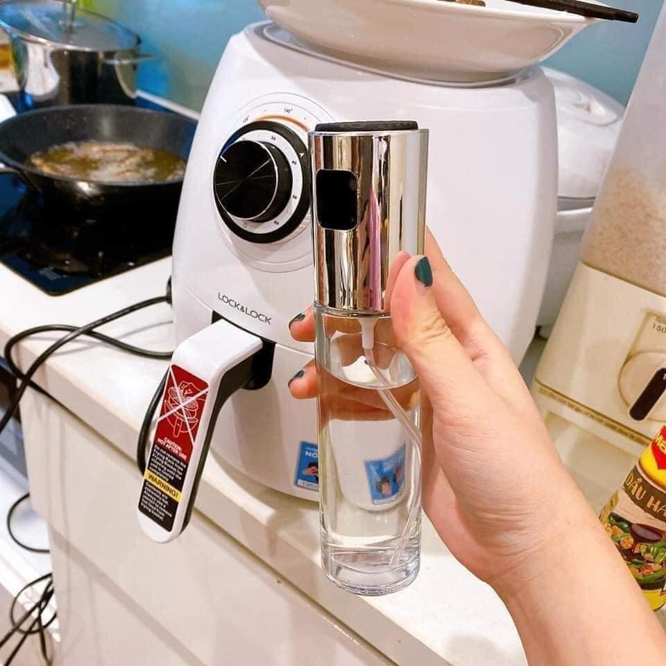 Lọ xịt dầu nấu ăn tiện lợi, Bình đựng dầu ăn - TABISO
